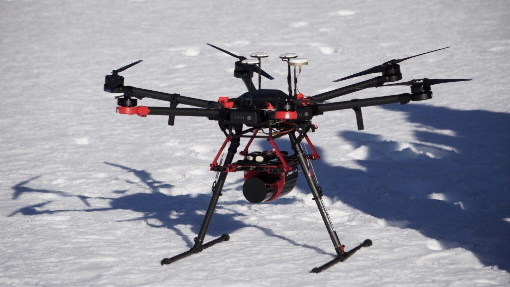UAV LIDAR sustav